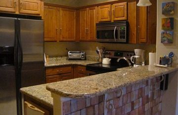 Granite counters, natural cleaning supplies