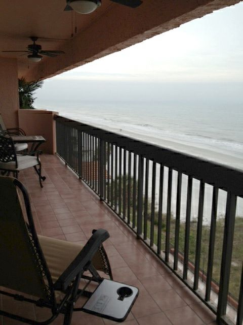 32 foot balcony overlooking the gulf beaches.....magnificent!!!