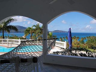 Samana villa photo - Terrace view on Rincon Bay
