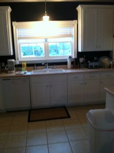 Open kitchen fully equipped for those relaxing meals in!
