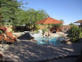 Scottsdale house photo - Wow.....private back yard. Better than a resort.