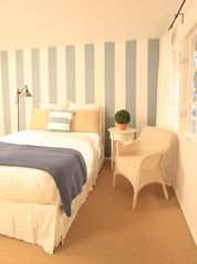 Malibu house photo - Charming secondary bedrooms complete the cottage experience.