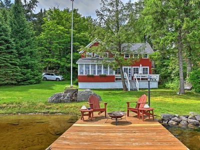 NEW! Lakefront 5BR Stratford House w/Private Dock!