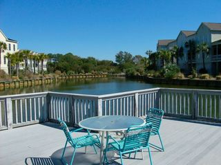 Seabrook Island villa photo - Pool has large deck area for sunbathing and relaxing