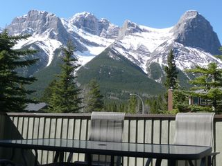 Canmore house photo - View from Front Deck accessed from our Great Room