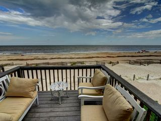 Tybee Island condo photo - Ocean Villa. Right on the ocean.Lots of beach right in front of your townhouse.