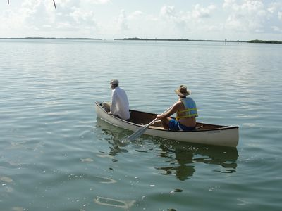 Ramrod Key cottage rental - 2 Person Canoe