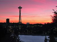 Panoramic Views!  Seattle Skyline, Space Needle And Lake Union