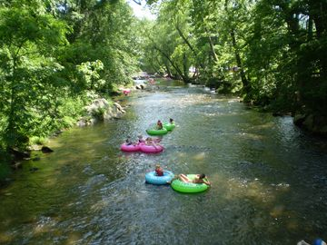 River Tubing on the Chattahoochee