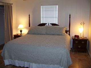 South Padre Island house photo - upstairs bedroom - king bed