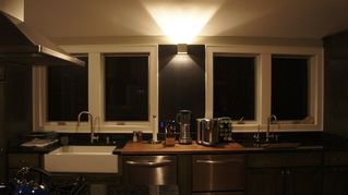 Three Oaks house photo - Kitchen. Night Pic