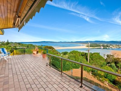 Merimbula house rental - Your deck - relax and enjoy your holiday