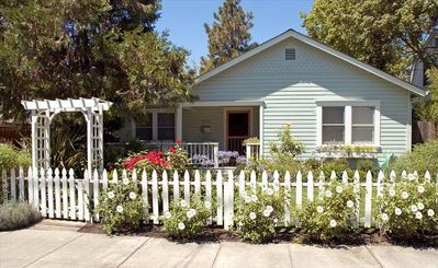 Idyllic Cottage Complete with White Picket Fence