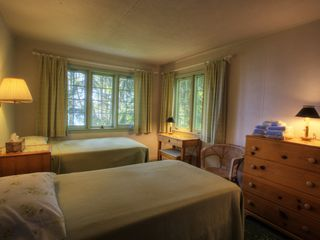Traverse City cabin photo - Twin beds in bunkhouse.