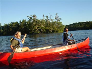 .The canoeing is terrific in spring, summer and fall