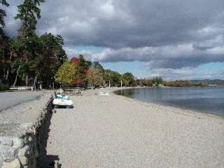 Ossipee Lake townhome photo - 400 ft private beach