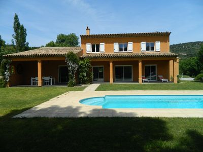 Superb villa with private pool near sea calm