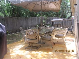San Antonio house photo - Patio BBQ