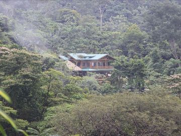 Villa Kristina Maria is nestled in the rainforest.