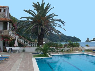 Agios Gordios apartment rental - Beach house Lousa on Agios Gordios in Corfu