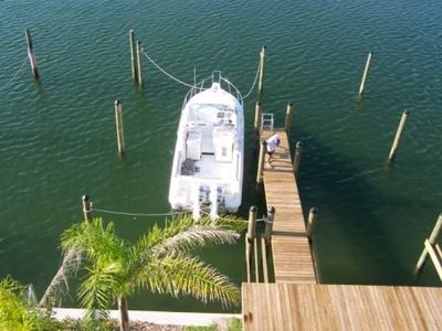 Private Boat Slip and Dock.  Great for fishing.