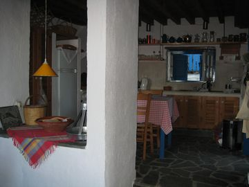 Kitchen, upper house