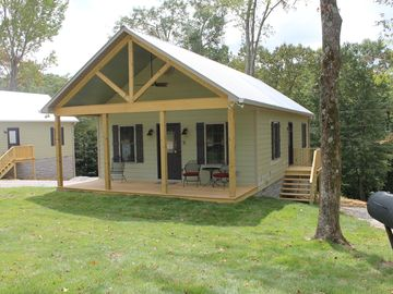 Florence cabin rental - The Farmhouse is a 2 bedroom custom cabin with a feel of your grandparents farm.