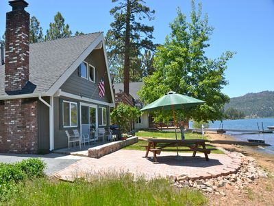 Lakefront Cabin, with amazing views of Big Bear Lake