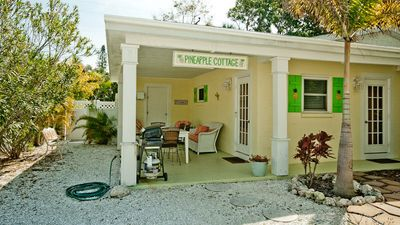 Anna Maria cottage rental - Welcome to Pineapple Cottage on Anna Maria Island!