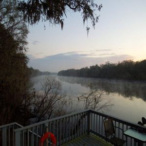 December Sunset at the Suwannee