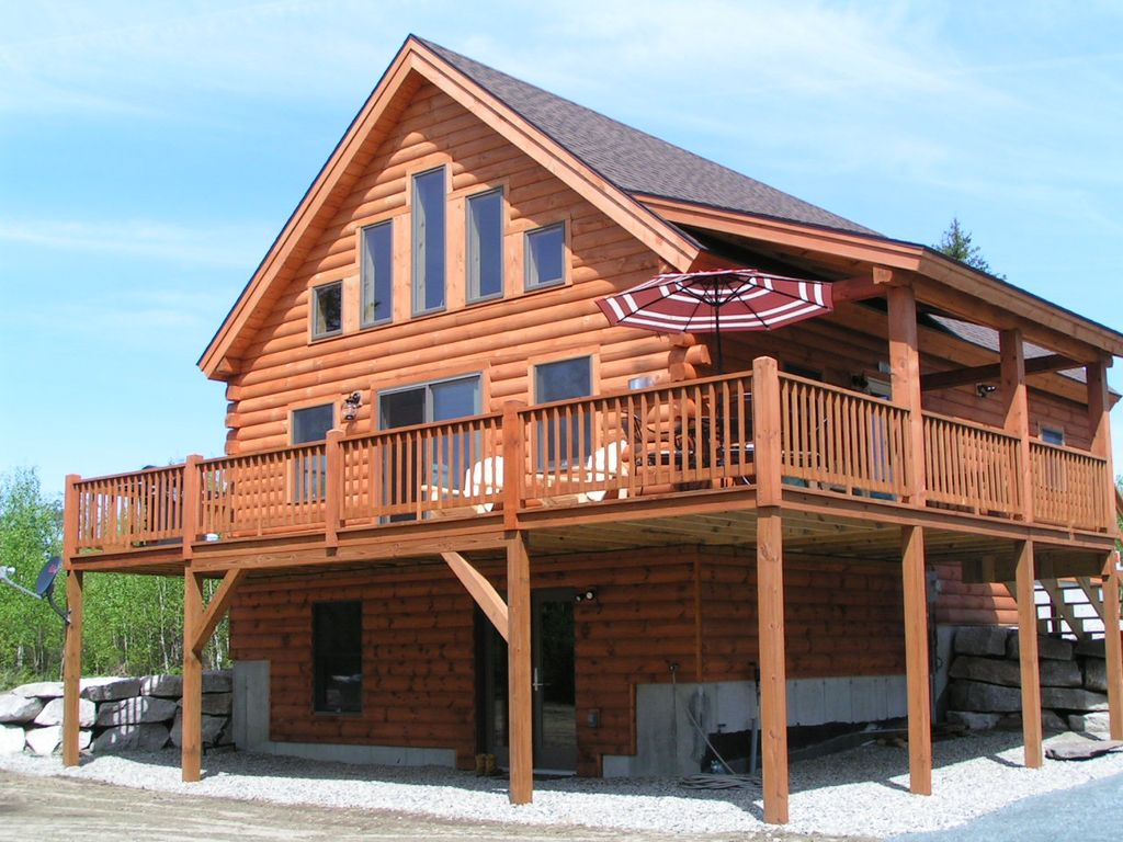 New Log Home In Twin Mountian Near Bretton Woods And