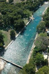 Austin house photo - Oasis' in the city ... Barton Springs Pool and Deep Eddy Pool are spring fed!