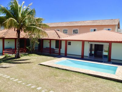 At 50 m. from Costazul beach, with WiFi, pool, barbecue and two lounges