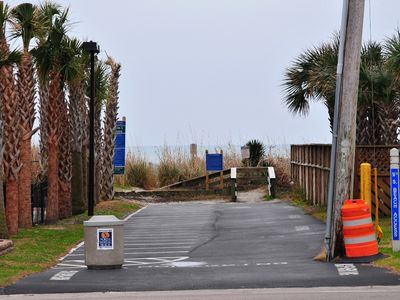 Beach Access Right Across From Villa!!