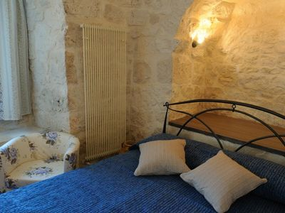 Martina Franca villa rental - trullo bedroom