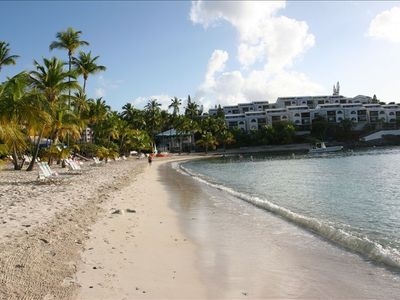 East End condo rental - Relax on the uncrowded beach.