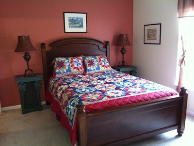 Amelia Island house rental - queen size bed - new mattress