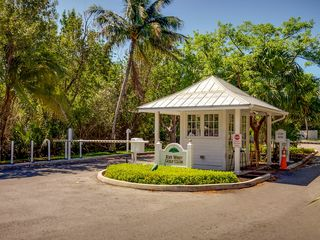 Key West house photo - The gated entrance to the Key West Golf Club.