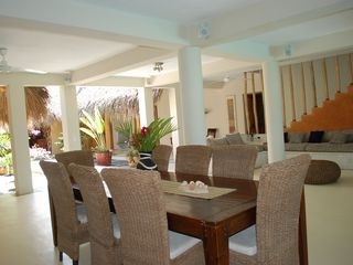 Las Terrenas house photo - Interior Dining and Living Area
