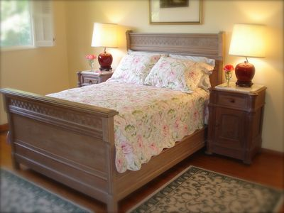 Renaissance Revival bedroom. Cozy bedding is waiting for you!
