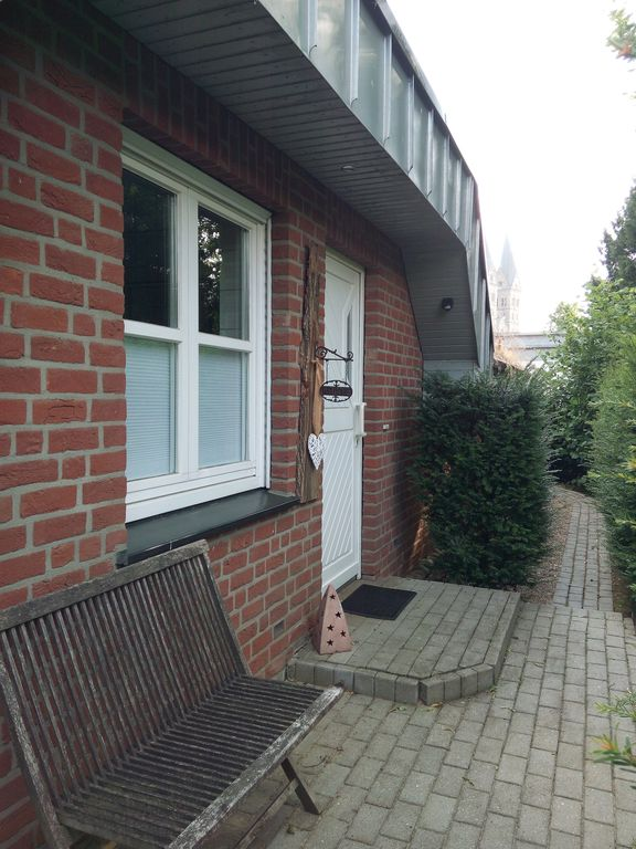 Holiday and Monteurwohnung with terrace in the bicycle paradise