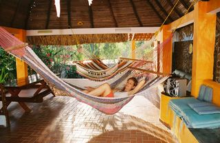 San Carlos chalet photo - Come enjoy one of our hammocks