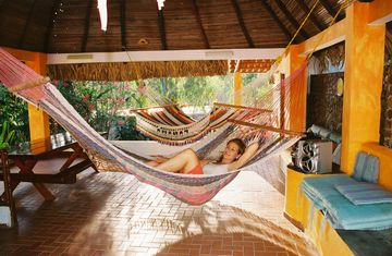 San Carlos chalet rental - Come enjoy one of our hammocks