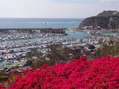 Dana Point condo rental - Dana Point Harbor as seen from a play park above