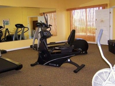 Exercise room in Clubhouse