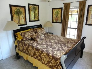 4th bedroom with Queen Bed & Flat Screen TV - Gulfport house vacation rental photo