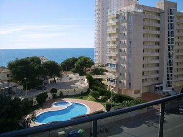 Calpe apartment rental - View from Apartment Terrace