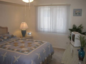 Master Bedroom With Queen Bed, Private Bath And TV/DVD