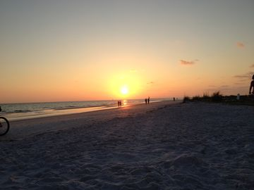 Sunset on Siesta Key beach, each sunset is the best one and never boring.
