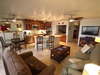Poipu condo photo - Enjoy the new kitchen and living room